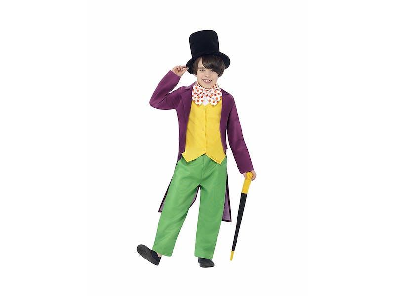 1. Willy Wonka Costume