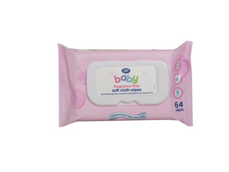 3. Soft Cloth Fragrance Free Wipes