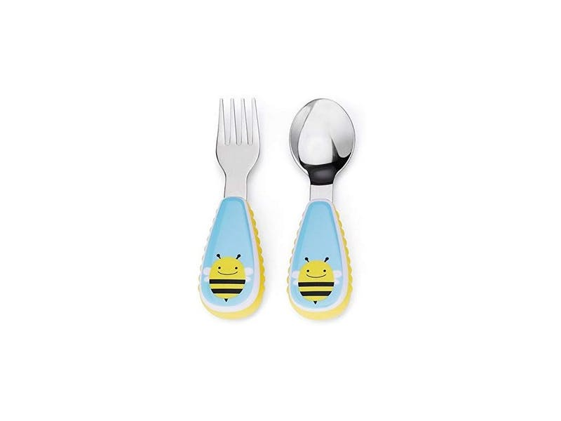 8. Skip Hop Kids Cutlery Set