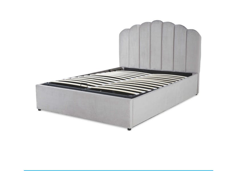 5. Grey King Size Ottoman Storage Bed, £399