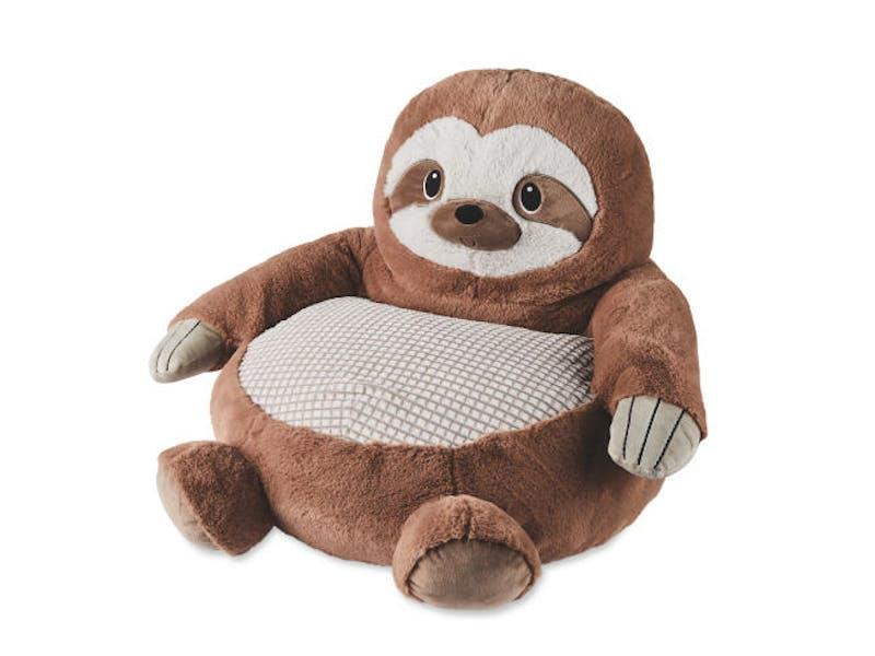 Plush Sloth Animal Chair
