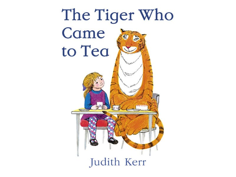 1. The Tiger Who Came To Tea by Judith Kerr