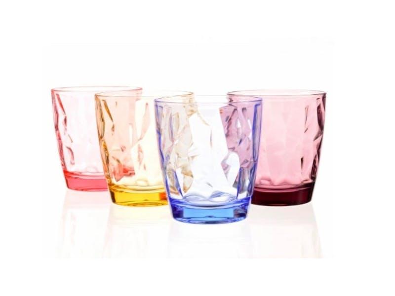 1. Acrylic Drinking Glasses Set