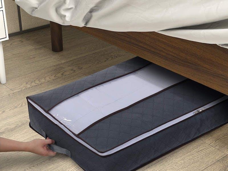 1. Under bed storage