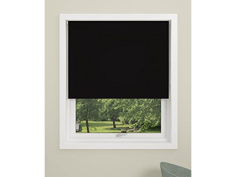 2. Permanent blackout blinds