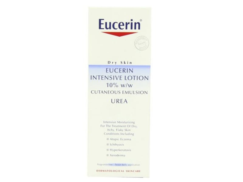 2. Eucerin Extra Dry Skin Intensive 10% with Urea Treatment Lotion 250ml, £10.50