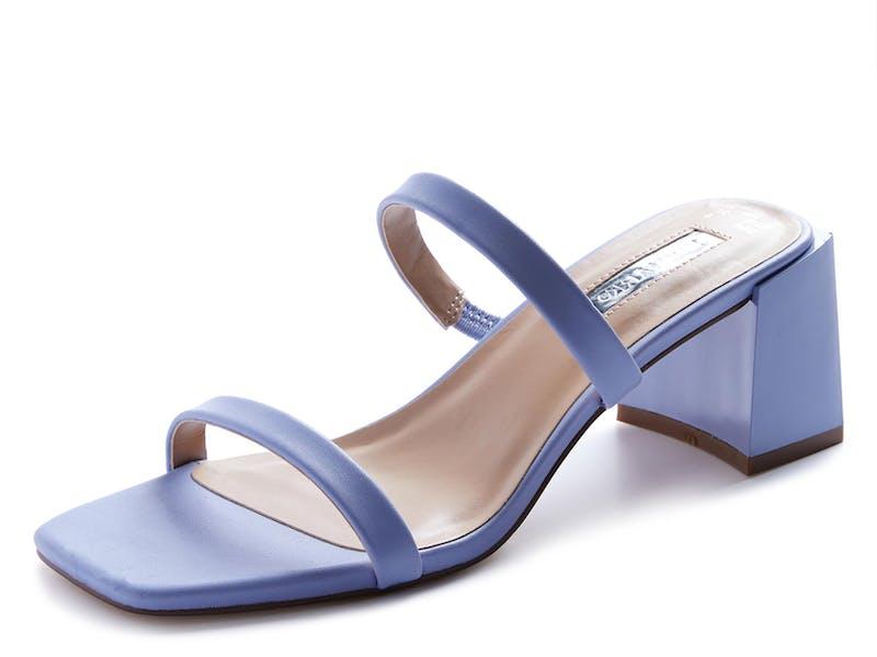 1. Blue Heel Sandal, £10