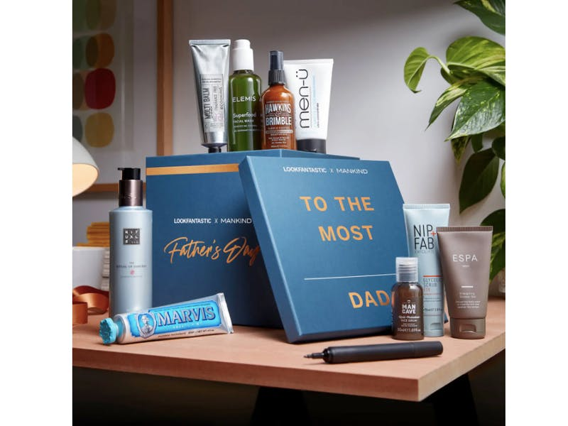 The LOOKFANTASTIC x MANKIND Father's Day Box
