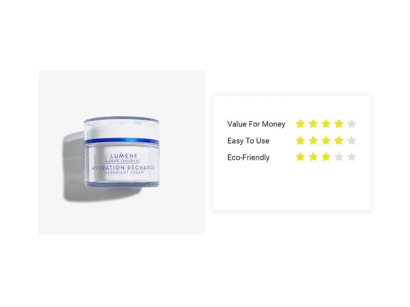 4. Lumene Nordic Hydra Hydration Recharge Overnight Cream, £17.90