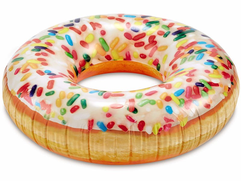 10. Doughnut inflatable ring