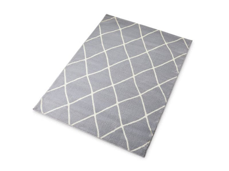Large Grey Contemporary Rug