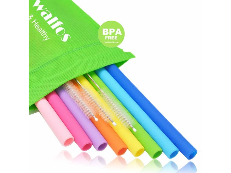 1. Reusable Drinking Straws (8-pack)