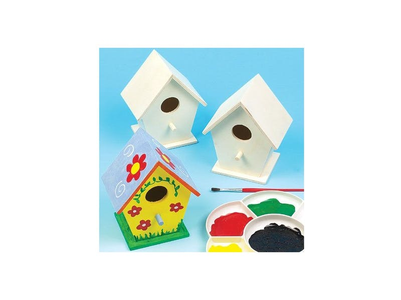 6. Mini Birdhouse (four-pack), £7.95