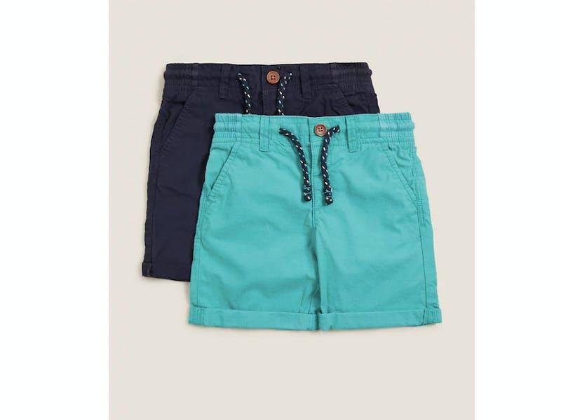 Pure Cotton Ripstop Shorts
