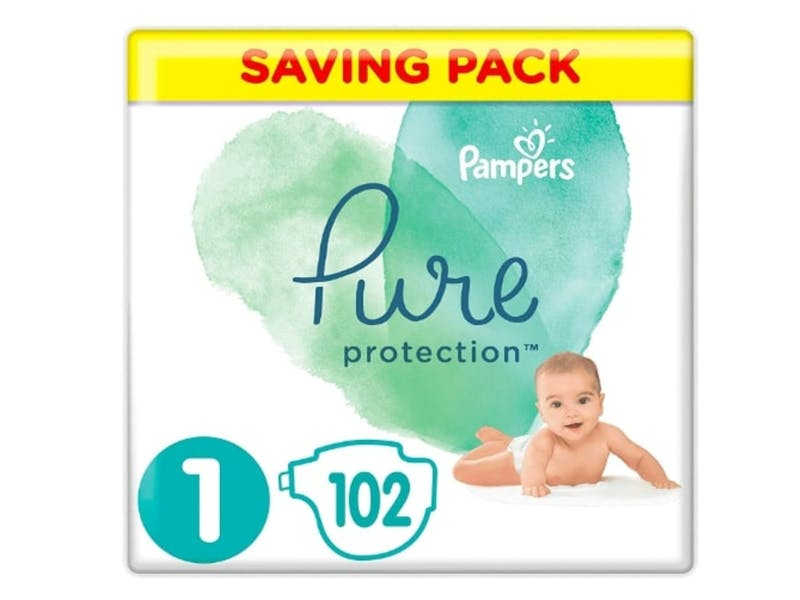 6. Pampers Pure Protection Nappies