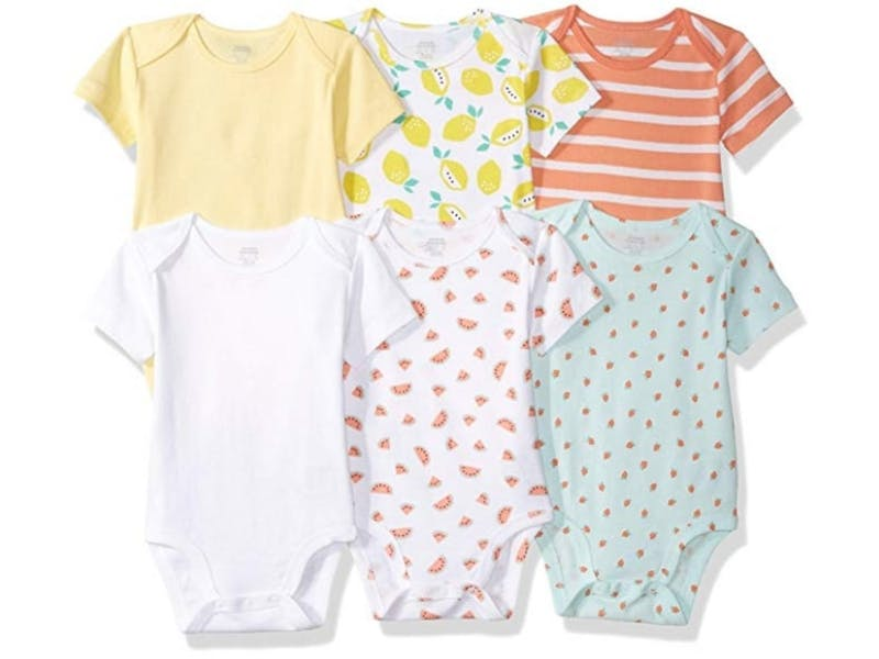 3. Short Sleeve Bodysuit (six-pack)