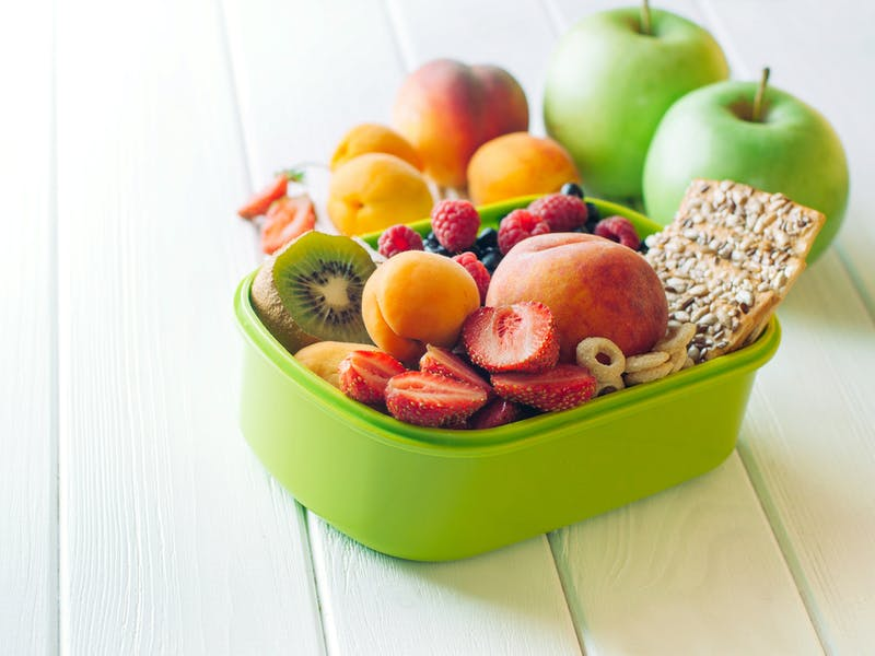 5. Give them healthy snacks
