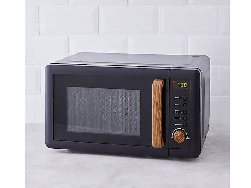 Contemporary 20L 700W Black Microwave