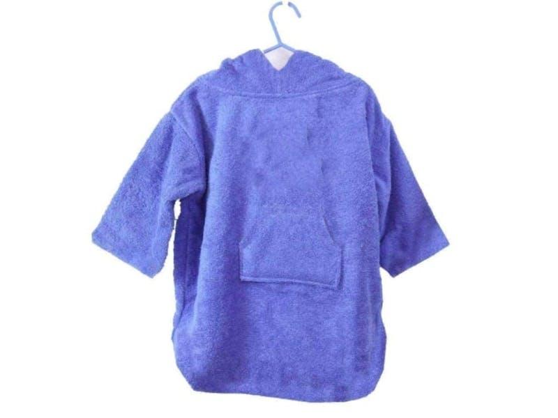 12. Hooded Towel Poncho