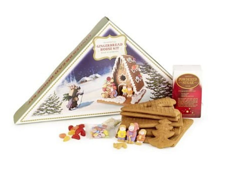 3. Traditional Gingerbread House Kit Gift Set