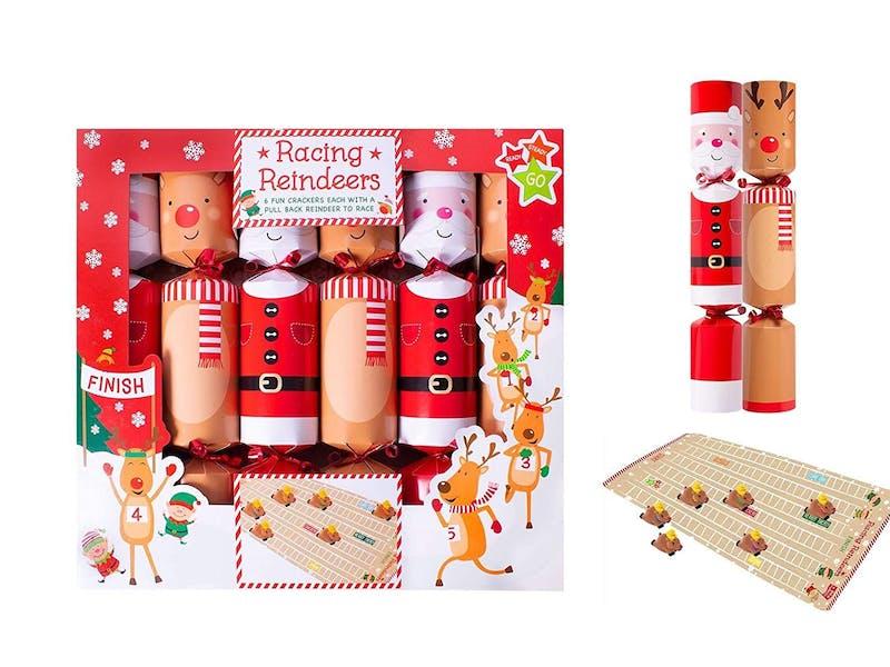 Christmas Crackers Racing Board