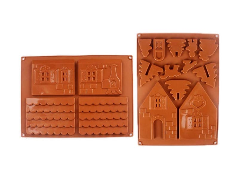 Gingerbread House Silicone Mould