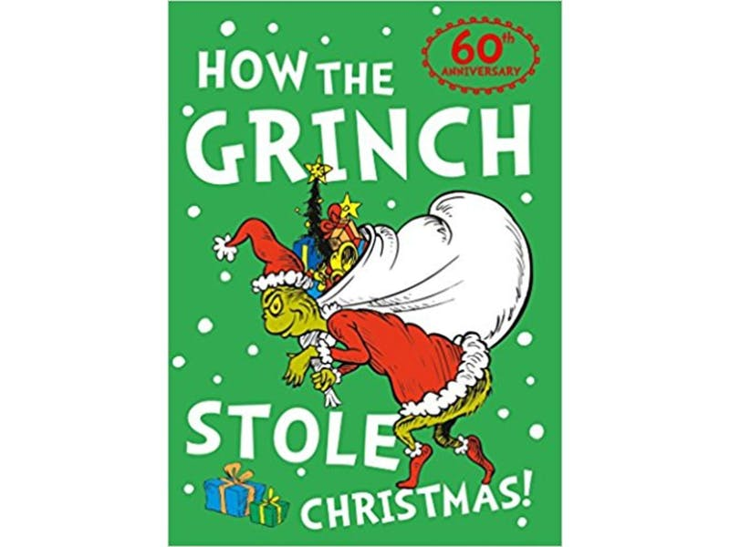 3. How The Grinch Stole Christmas by Dr Seuss