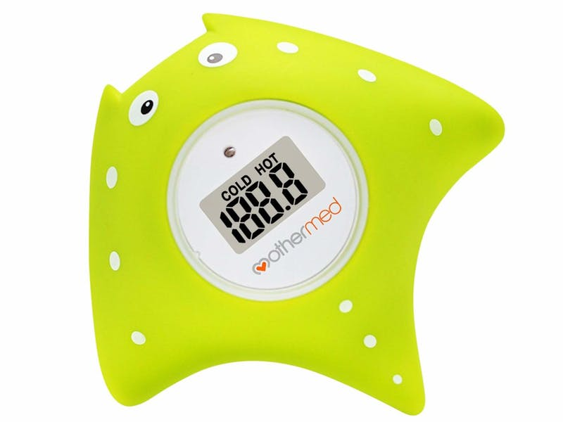 Mothermed Baby Bath Thermometer and Floating Bath Toy Bathtub