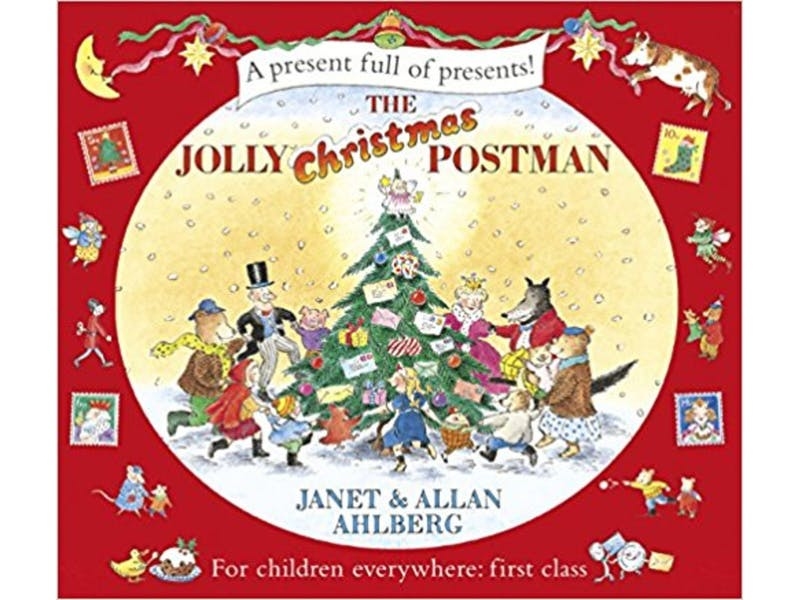 7. The Jolly Christmas Postman by Janet Ahlberg
