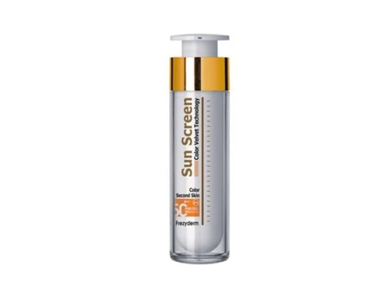 1. Frezyderm SPF 50 colour sunscreen