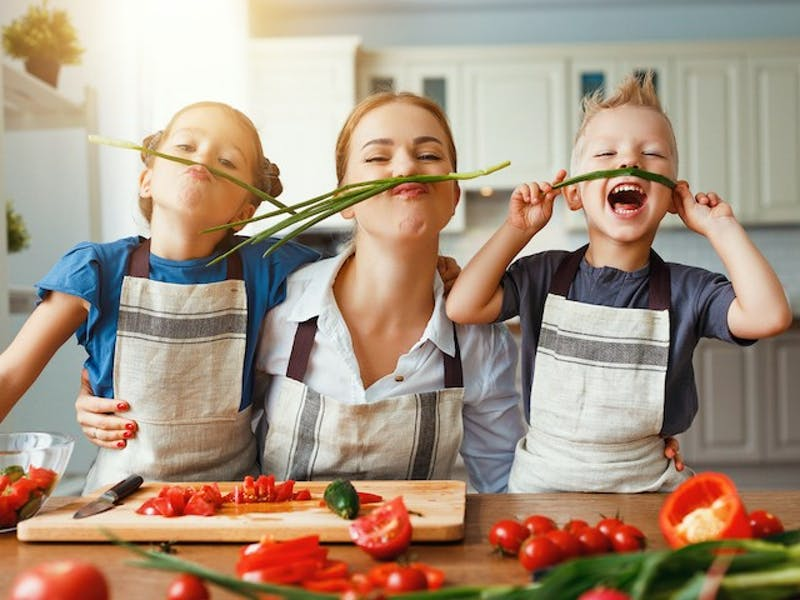 1. Cooking With Kids