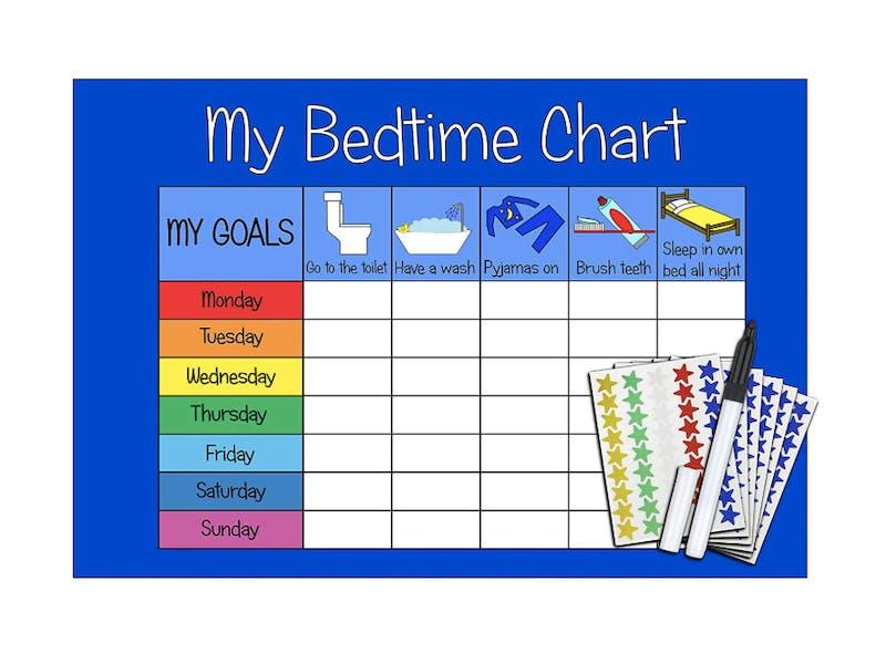 Bedtime chart