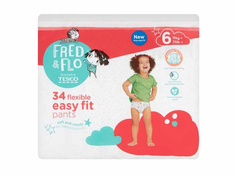 Fred & Flo Easy Fit Nappy Pant
