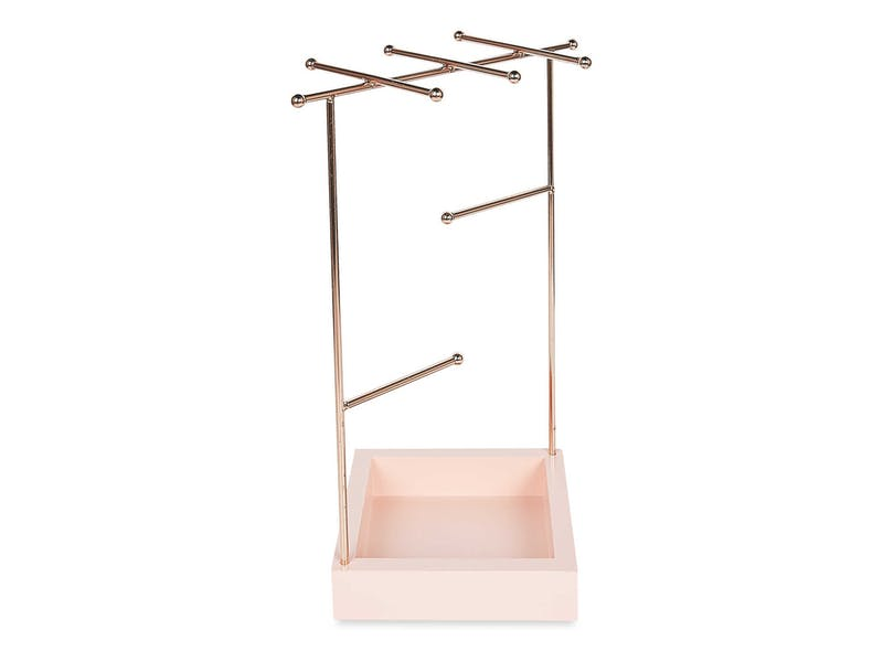 10. Rose Gold Jewellery Stand, £4.99