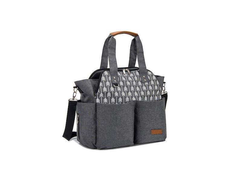 6. Lekebaby Messenger Nappy Changing Bag
