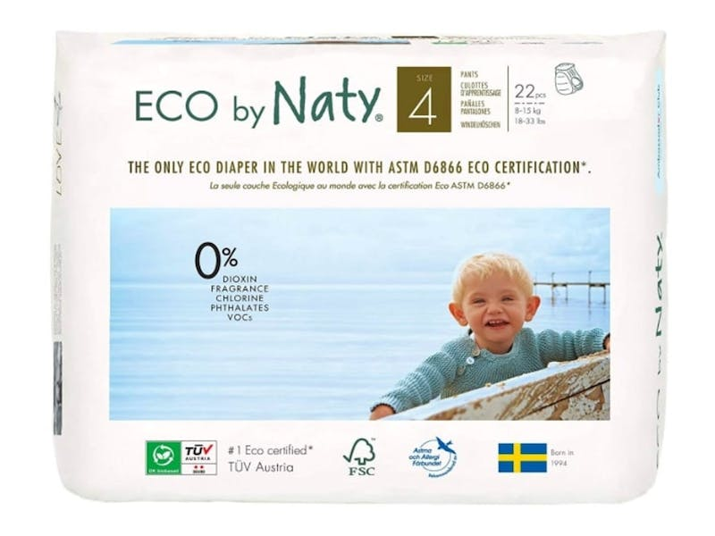 1. ECO by Naty Nappies (22-pack)