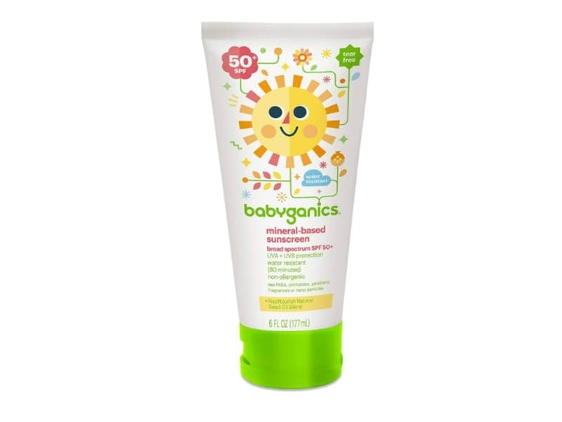 Mineral-Based Sunscreen for Face and Body
