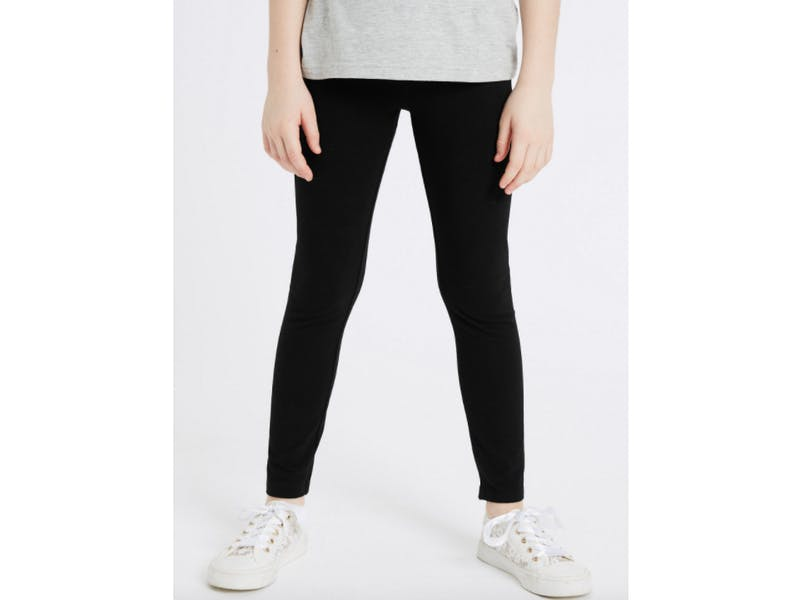 Cotton Leggings with Stretch
