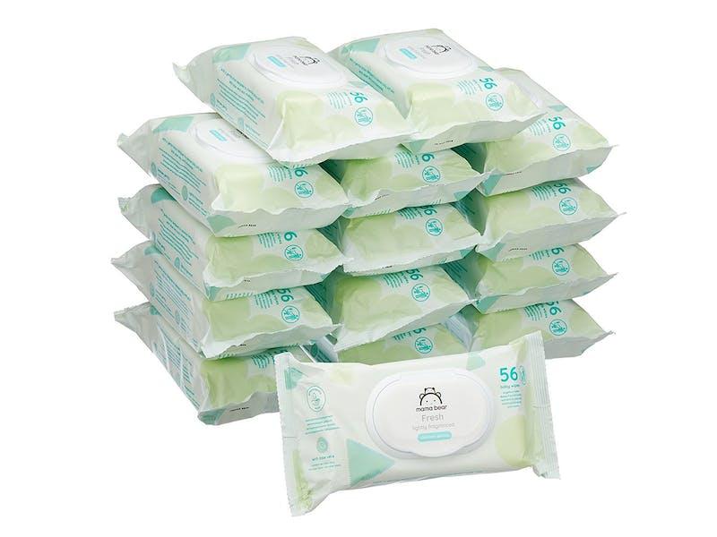 1. Mama Bear Fresh Baby Wipes (15-pack)