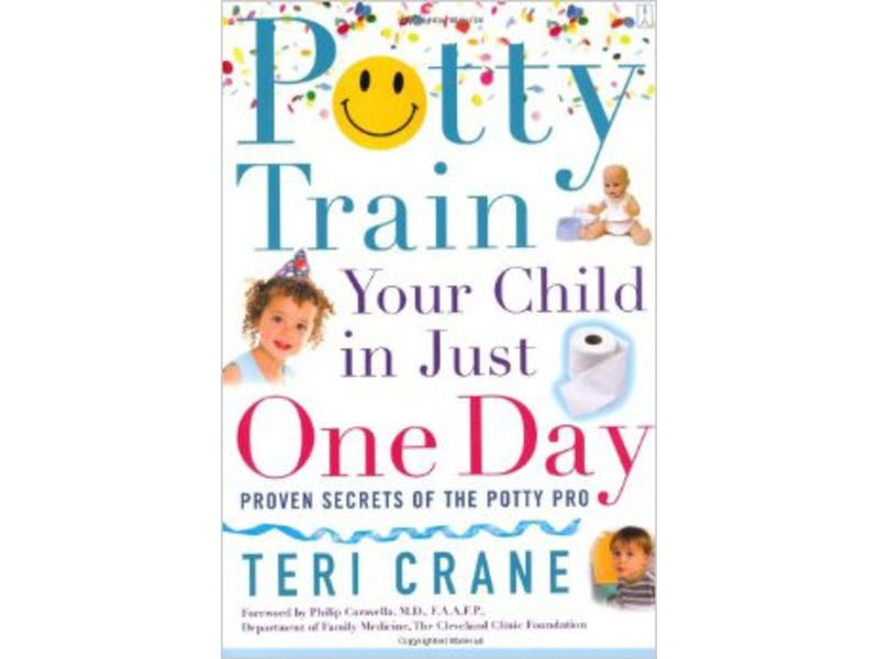 3. Potty Train Your Child in Just One Day by Teri Crane