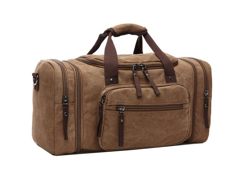 4. Unisex Canvas Holdall