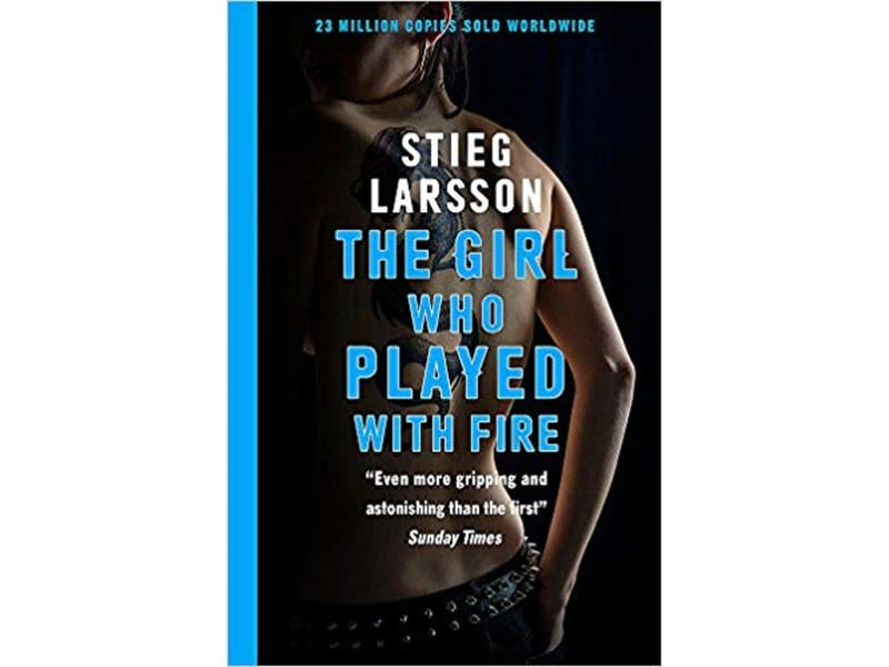 20. The Girl who Played with Fire by Stieg Larsson