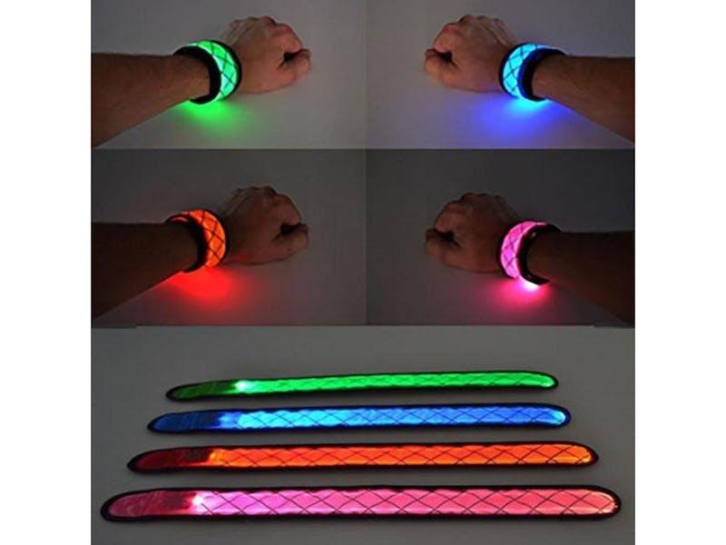 1. Flashing LED Bracelets, £5.99