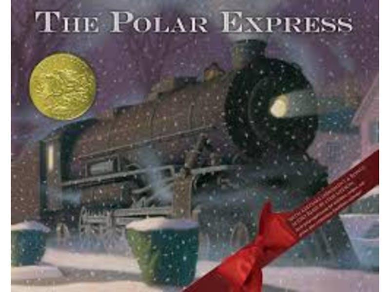 4. The Polar Express by Chris Van Allsburg