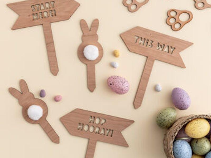 5. Wooden Easter Egg Hunt Kit, £25