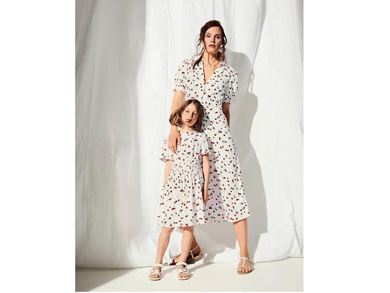 Strawberry Print Dress