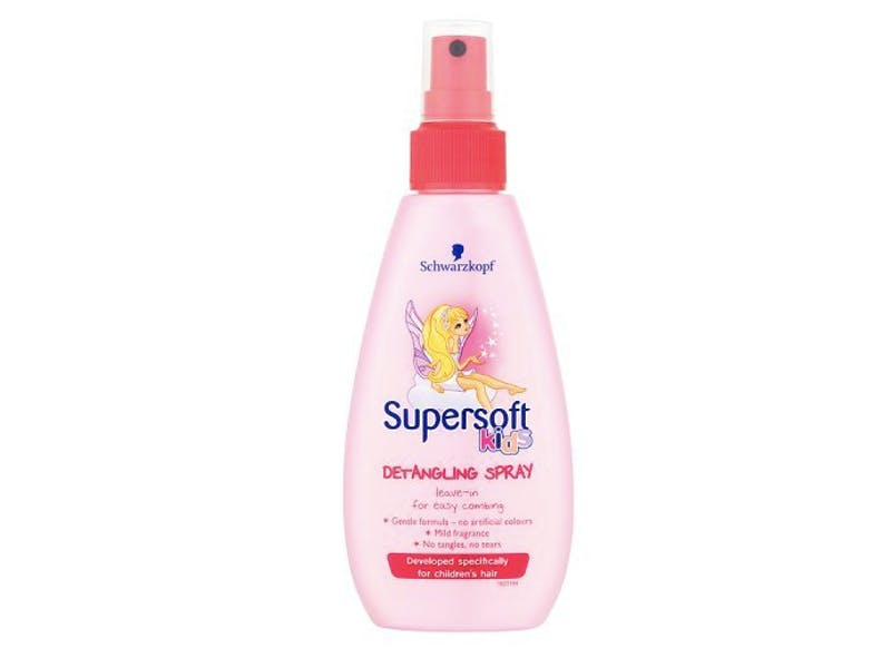 2. Schwarzkopf Supersoft detangling spray, £2