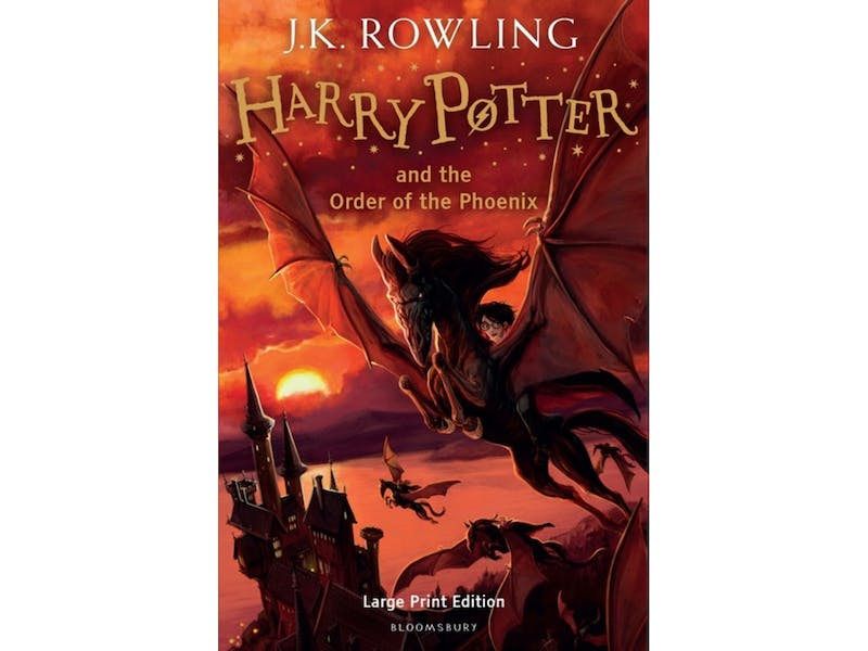 4. Harry Potter and the Order of the Phoenix by J.K. Rowling