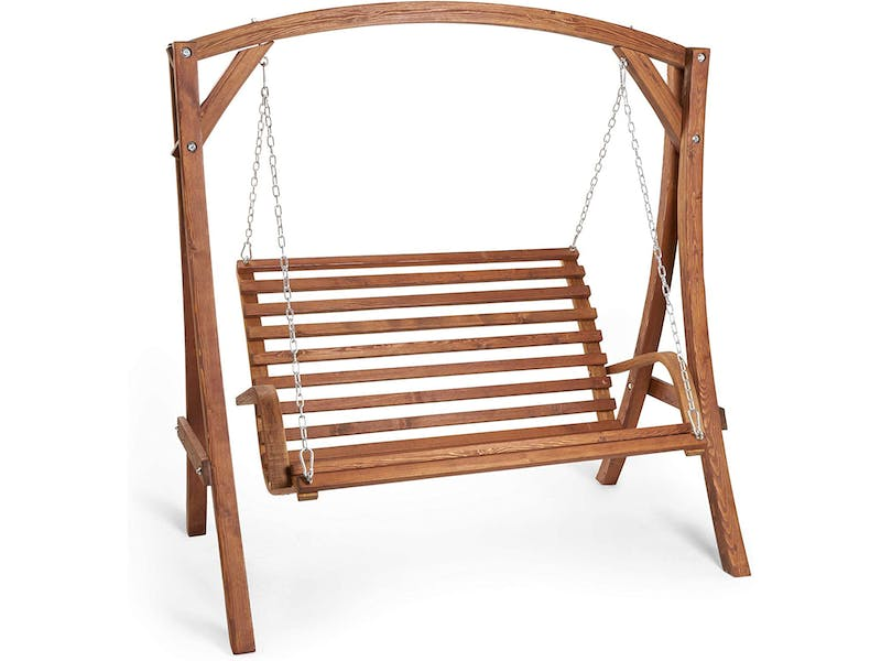 Seater Wooden Swing Seat