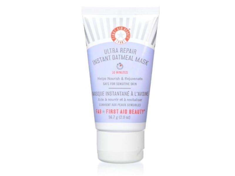 1. First Aid Oatmeal Mask